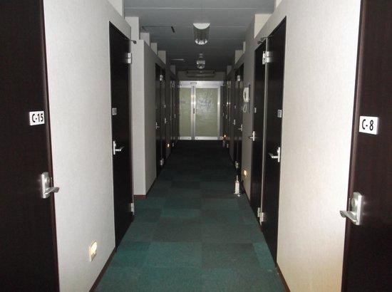 Capsule Hotel Gloria: レディースフロア個室外観