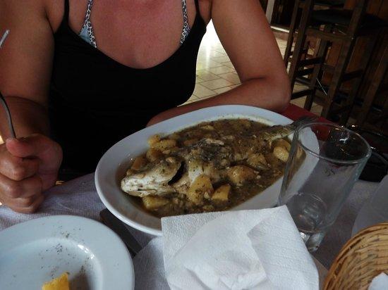 Squirrel Restaurant: Fish in sauce