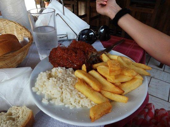 Squirrel Restaurant: Greek meatballs