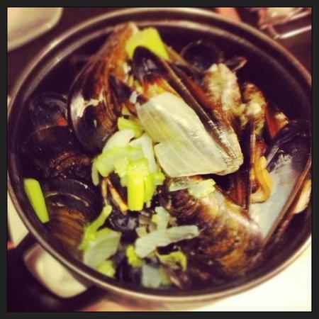 Restaurant Nerja de Nerja: Mejillones a la belga