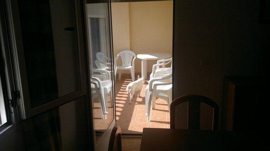 Apartamentos Maracay: terraza