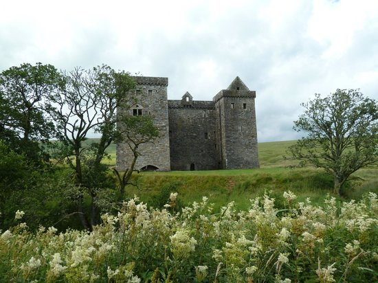 冬宫城堡,苏格兰边界的照片