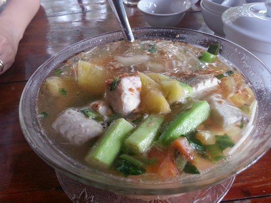 Sakura : Fish soup