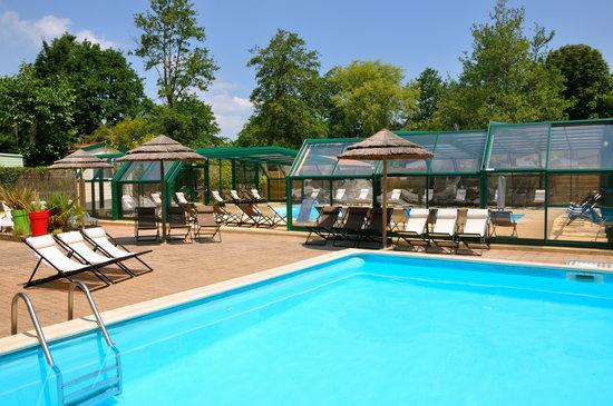 Caravaning les tourterelles rang du fliers pas de calais for Hotel nord pas de calais avec piscine