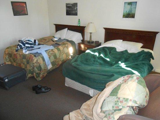 Motel 400: letti sfatti perchè usati da noi, comodi però