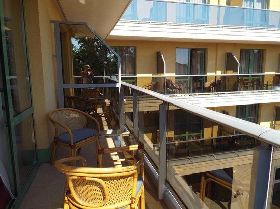 Balneo Hotel Zsori Thermal & Wellness: great balcony