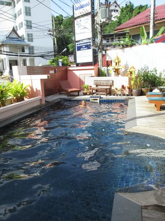 Bauman Ville by Alora Hotels: morning swim
