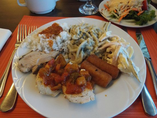 Balneo Hotel Zsori Thermal & Wellness: Dinner