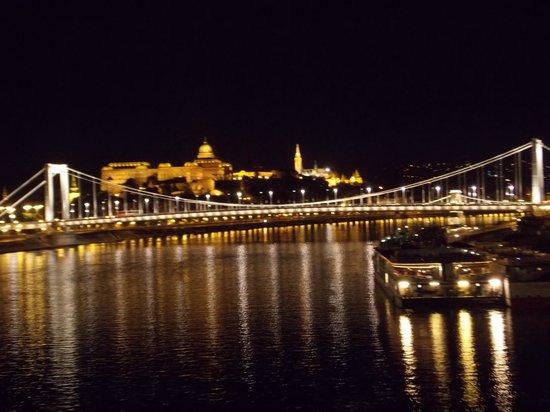 Cosmo City Hotel: L'hotel è vicinissimo al Liberty Bridge dove si può ammirare questa meraviglia