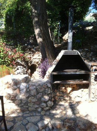Villa Tehila: oven for cook outs
