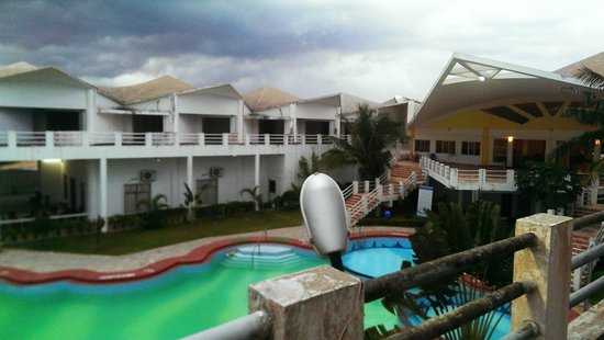 Puri - Golden Sands, A Sterling Holidays Resort: view from the top