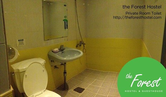 The Forest Hostel: Private room toilets
