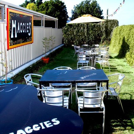 Maggies Beer Garden at Eagles Nest Bar and Grill