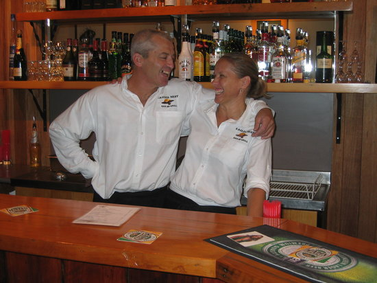 Eagles Nest Bar and Grill: John Hawkes and Louise Parkinson Owners