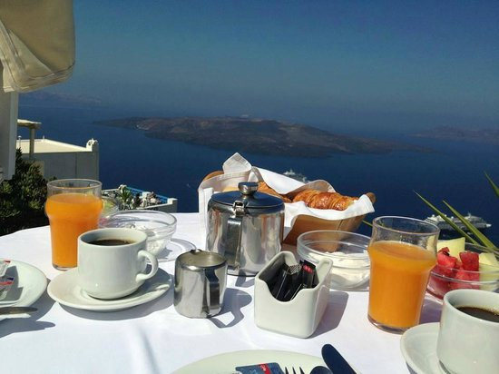 Hotel Kavalari: The best breakfast with the best view