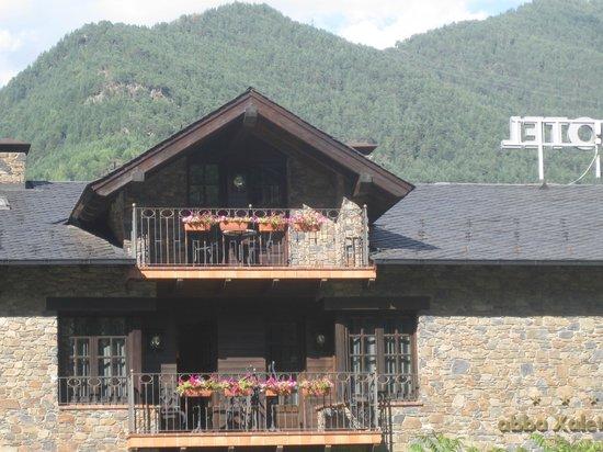 Abba Xalet Suites Hotel: Vista exterior.