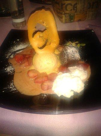 De Pasta: Mon dessert special pas inscrit sur la carte, UN REGAL !