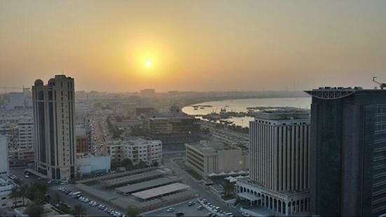 Lexington Gloria Hotel Doha: Vista desde el hotel Gloria Doha.!!