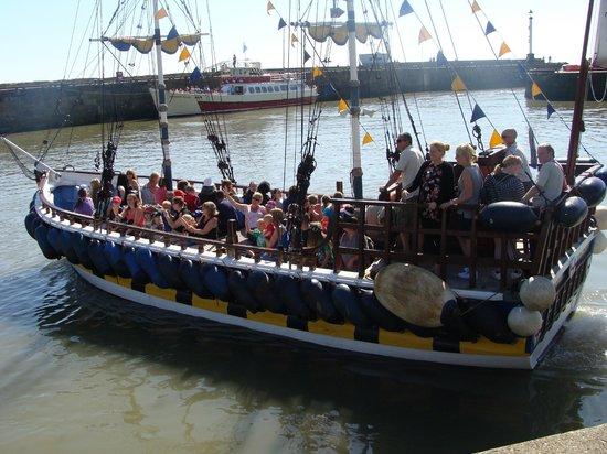 Bridlington Pirate Ship: The ship