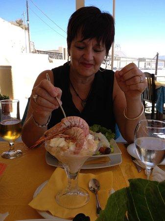 Skaros Fish Restaurant : Shrimp (Prawn) Cocktail