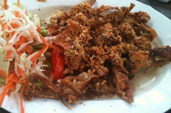 Sirada Restaurant: ปูนิ่มทอดกระเทียม