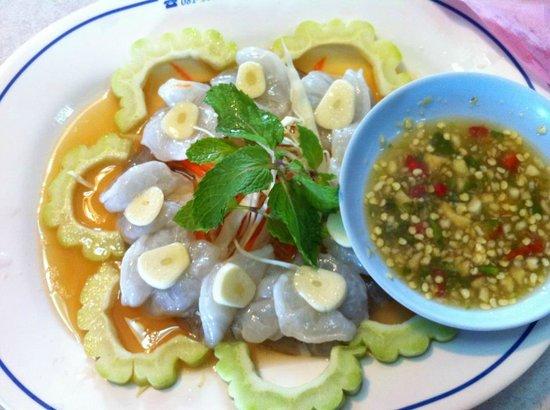 Sirada Restaurant: กุ้งแช่น้ำปลา