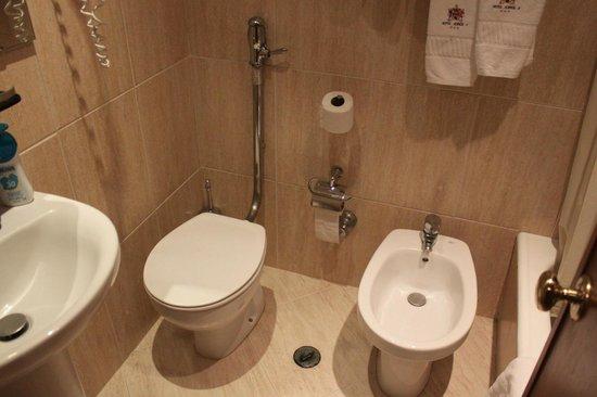 Hotel Jorge V: Banheiro!