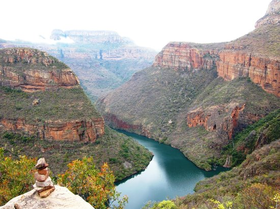 Amazing view following the leopard trail - Picture of ...