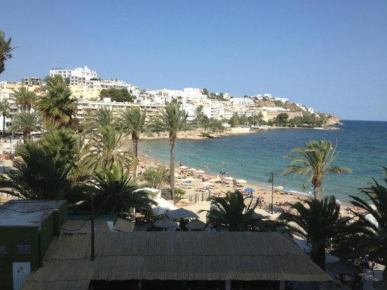 Hotel Ibiza Playa: View from our room