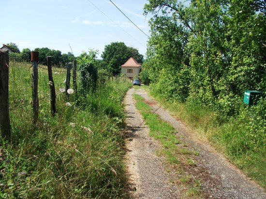 Tarn-et-Garonne, Francia: Track to Clauzel from main road