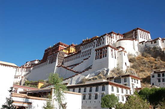 The Potala Palace in Lhasa, Tibet,China