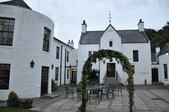 Maryculter House Hotel: entrée