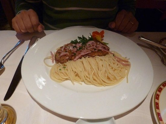 Restaurant Kreuz & Post: Pasta meal