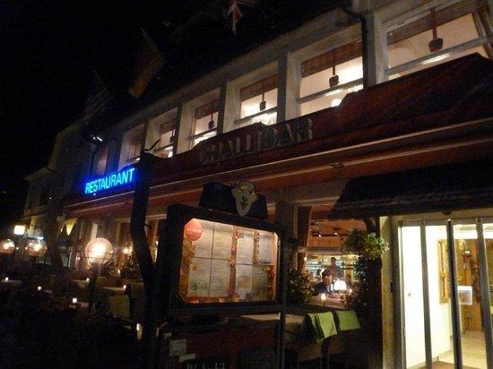 Restaurant Kreuz & Post: Outside the restaurant