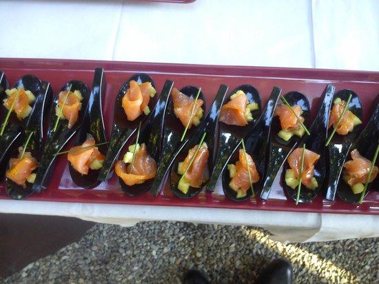Restaurant Il Falconiere: hapje