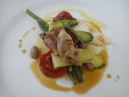 Restaurant Il Falconiere: voorgerecht