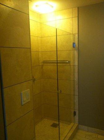 Hotel Ignacio: rain shower in bathroom