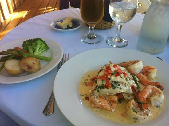 Blue Heron Inn: Seafood Trilogy