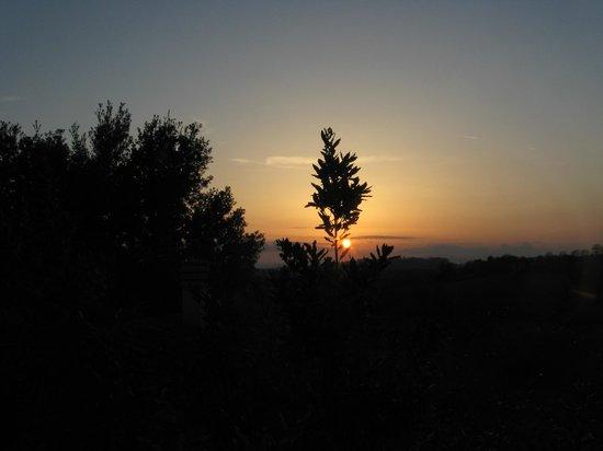 Agriturismo Case Cordovani : Tramonto