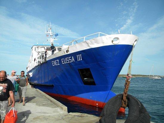 Ile Molene, France: Enez Eussa à la cale de Molène
