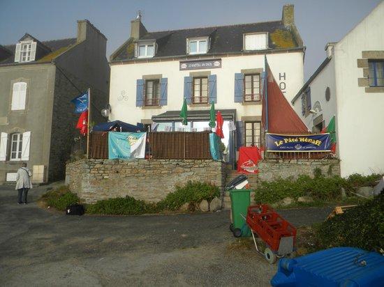 Ile Molene, Frankrig: Kastell an Daol sur le port