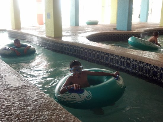 Indoor Lazy River Was Long But Too Low For Tall People
