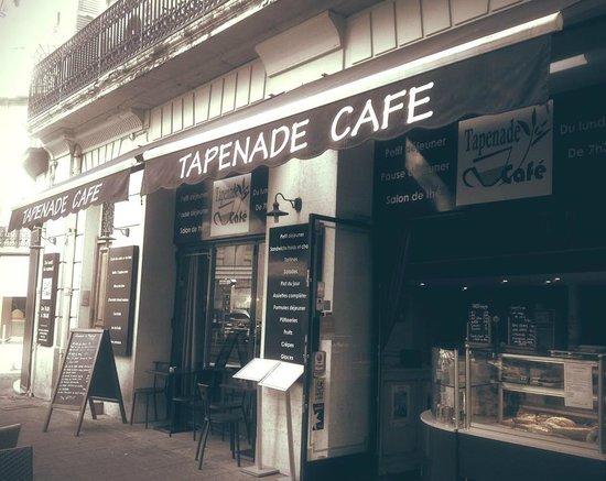 Tapenade Cafe: Bienvenue chez nous...