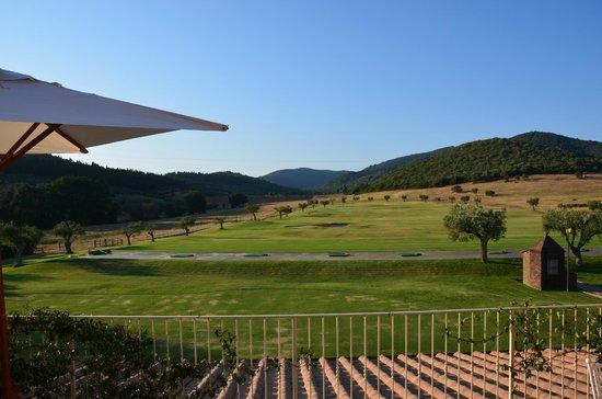 L'Andana: Vue terrasse de la chambre des parents