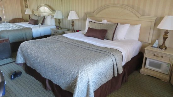 BEST WESTERN PLUS Pepper Tree Inn: Zimmer mit King Size Bett