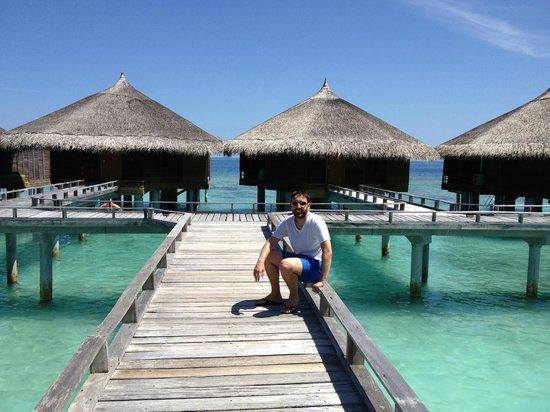 Kuramathi Island Resort: Water Villa Walkway