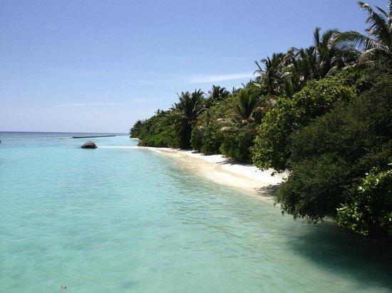 Kuramathi Island Resort: The north of the island