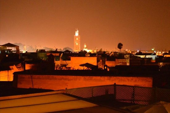RIad Al Loune: View from the terrace