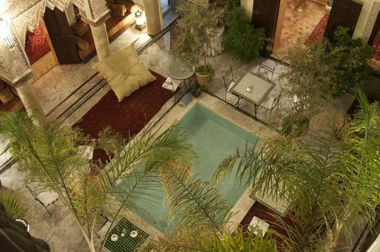 RIad Al Loune: The stunning courtyard