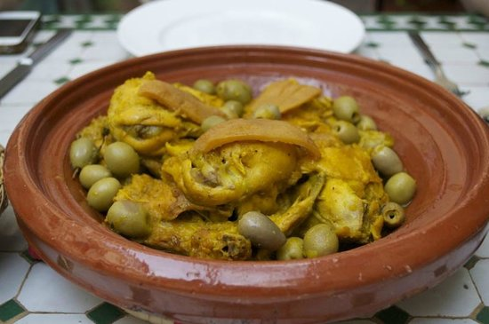 RIad Al Loune: Dining at the Riad